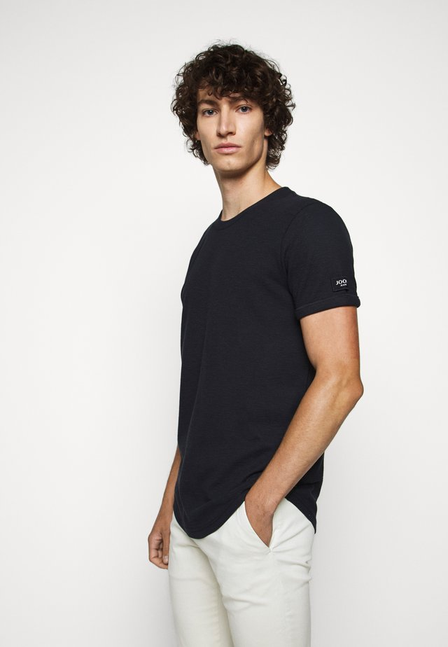 LEON - Basic T-shirt - dark blue