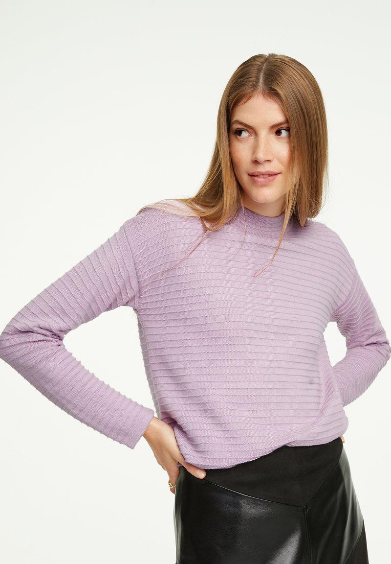 comma casual identity - Jumper - light lilac