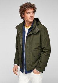 s.Oliver - Light jacket - khaki - 0