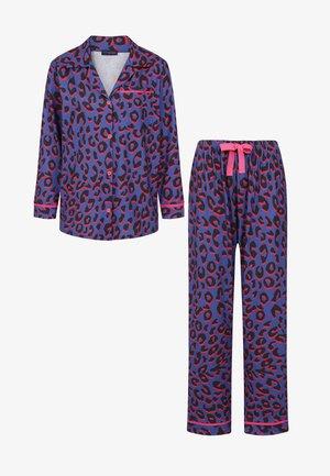 Pyžamová sada - blue leopard