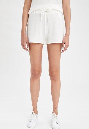 REGULAR FIT  - Shorts - ecru