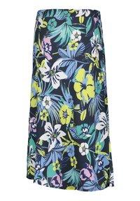 Betty Barclay - MIT AUFDRUCK - A-line skirt - dark blue/green - 4