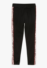 Name it - NKFLEXI IDA NORMAL PANT - Trousers - black - 0