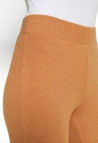aerie - RIBBED FLARE PANT - Spodnji del pižame - hazel - 4