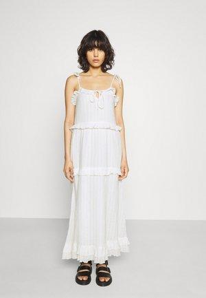 YASFLICKA STRAP ANKLE DRESS - Długa sukienka - star white