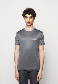 Emporio Armani - Basic T-shirt - grey - 0