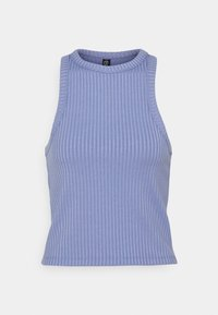 LIFESTYLE RACER TANK - Top - periwinkle