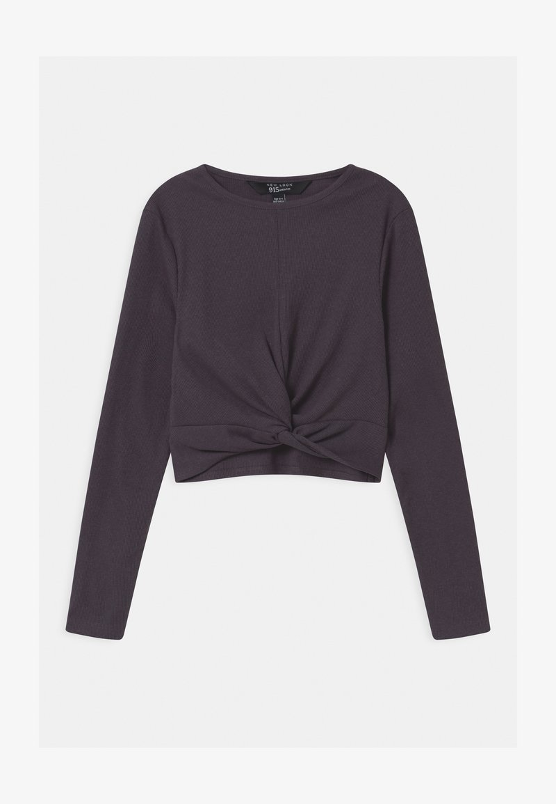 New Look 915 Generation - TWIST FRONT - Long sleeved top - light grey