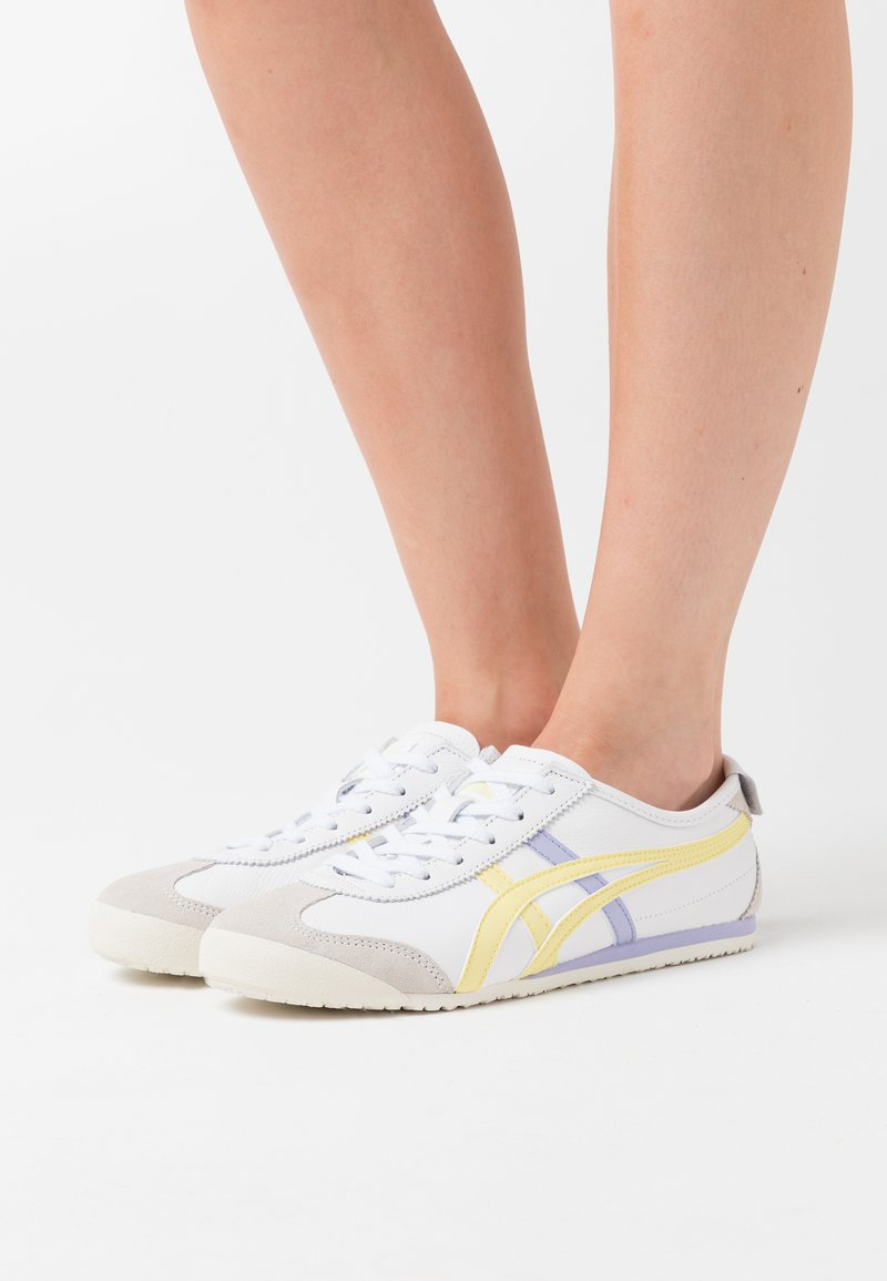 Onitsuka Tiger - MEXICO 66 - Sneakers basse - white/acid yellow