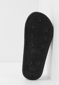 BOSS Kidswear - SLIDE - Matalakantaiset pistokkaat - black - 4