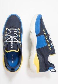 Lacoste - SUBRA IMPACT - Sneakersy niskie - navy/blue - 1