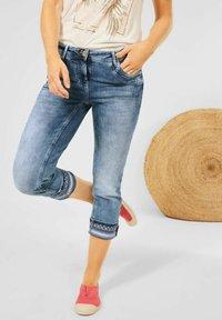 Cecil - Denim shorts - blau - 0