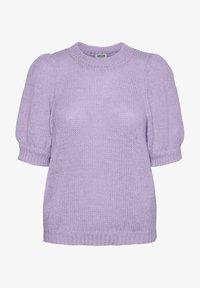 Vero Moda - VMOUI HEDWIG - Strickpullover - pastel lilac - 4