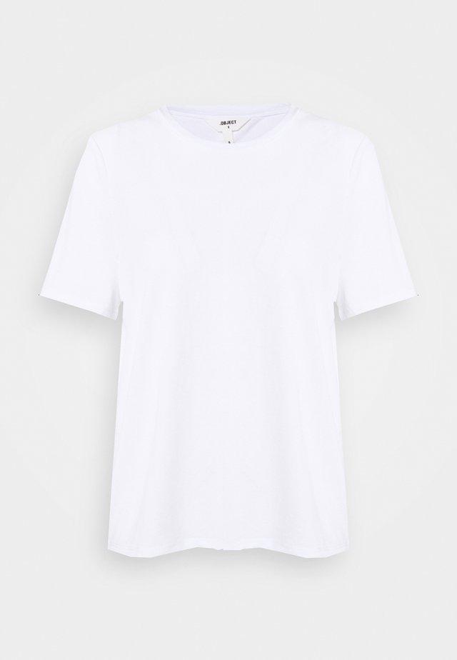OBJANNIE PETIT - Jednoduché triko - white