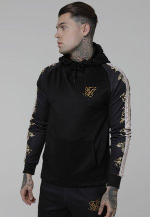 Sweatshirt - black/white/gold