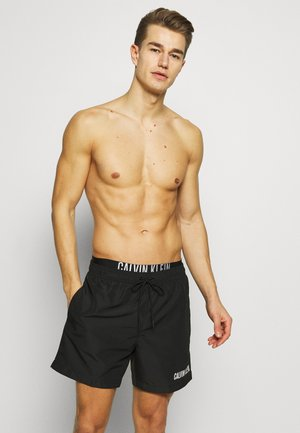 MEDIUM DOUBLE - Shorts da mare - black
