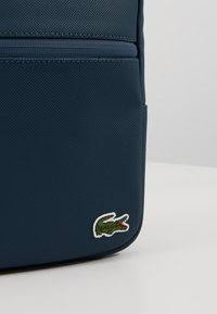 Lacoste - FLAT CROSSOVER BAG - Across body bag - reflecting pond - 7