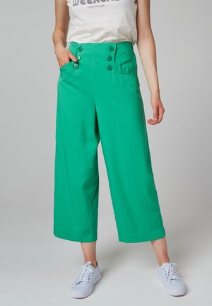 MARLENE AT THE SEA - Trousers - green