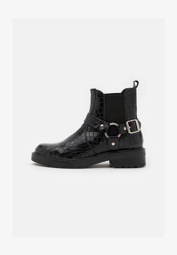 LIVA - Cowboy/biker ankle boot - black