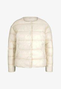 TOM TAILOR DENIM - KRAGENLOSE  - Winter jacket - blazed beige - 4
