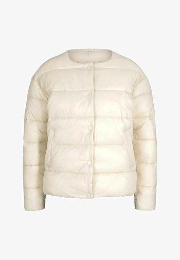KRAGENLOSE  - Winter jacket - blazed beige