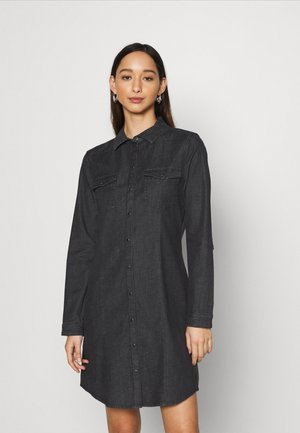 ONLVIC LIFE DRESS  - Dongerikjole - black denim