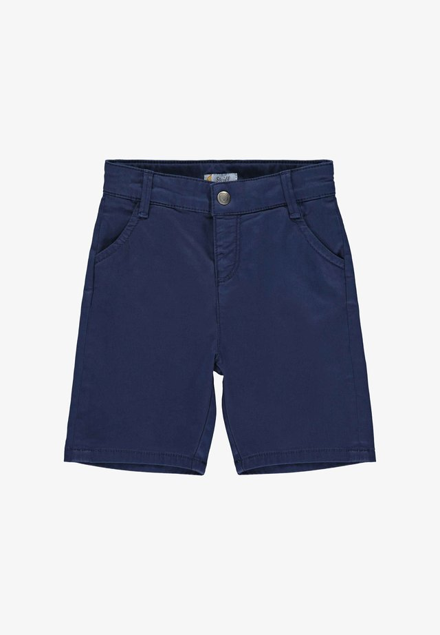 STEIFF COLLECTION BERMUDAS MIT TEDDYBÄRMOTIV - Shorts - dark blue