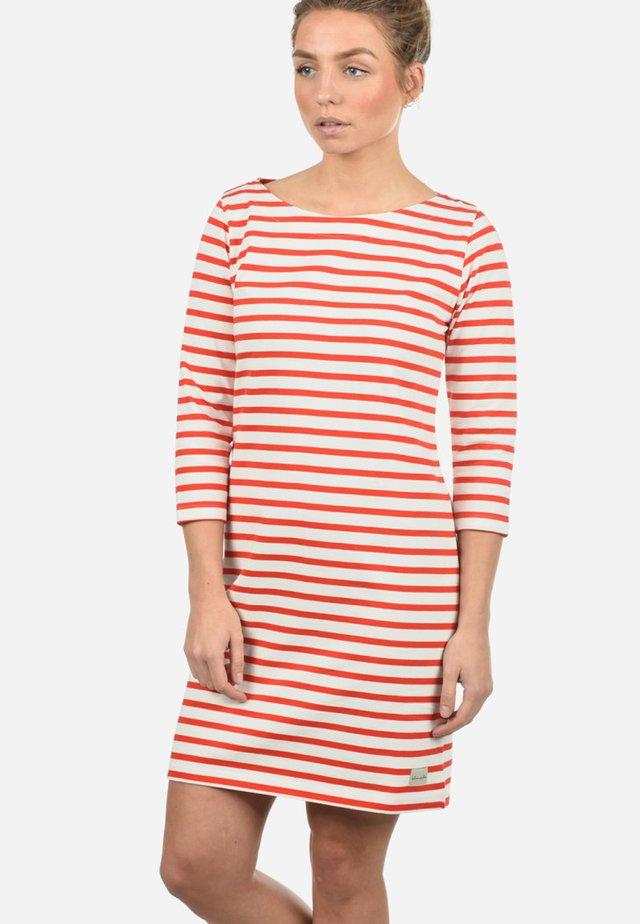 ENI - Jersey dress - fiery red