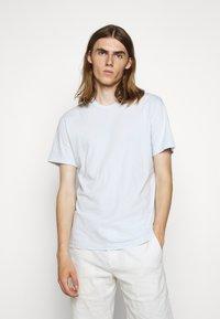 James Perse - CREW NECK - T-shirt basic - grey glacier - 0