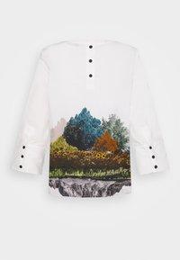 Nümph - NUBRONYA BLOUSE - Bluser - bright white - 1