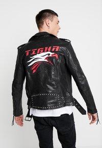 Tigha - ROYCE - Veste en cuir - black - 2
