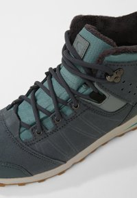 Salomon - UTILITY TS  - Hiking shoes - trellis/stormy weather/tropical green - 2