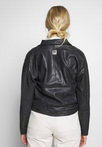 Freaky Nation - LORIANA - Leather jacket - black - 2