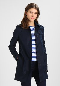 Tommy Hilfiger - HERITAGE SINGLE BREASTED - Trenchcoat - midnight - 0