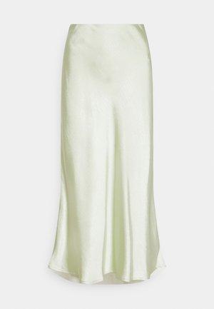 YASPASTELLA MIDI SKIRT - A-line skirt - tender greens