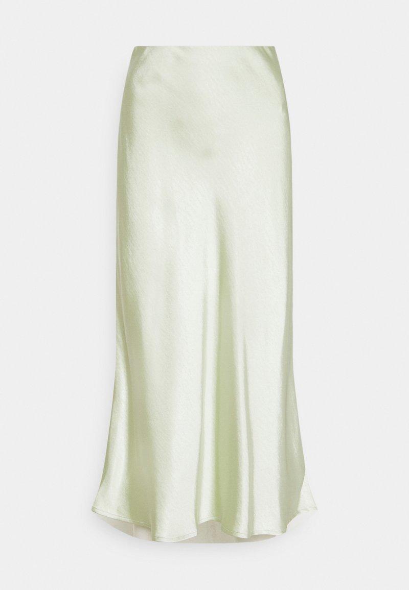 YAS - YASPASTELLA MIDI SKIRT - A-line skirt - tender greens