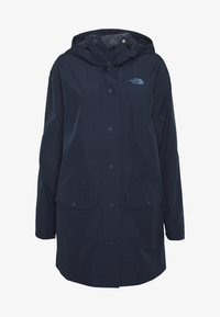 The North Face - WOMENS WOODMONT RAIN JACKET - Hardshell-jakke - urban navy - 7