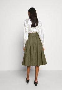 esmé studios - TASJA SKIRT - A-line skirt - dusky green - 2