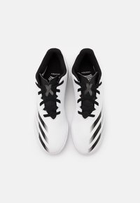 adidas Performance - X GHOSTED.4 FOOTBALL SHOES INDOOR UNISEX - Indoor football boots - footwear white/core black/silver metallic - 3