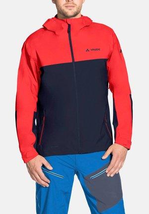 ME MOAB RAIN JACKET - Hardshell jacket - mars red