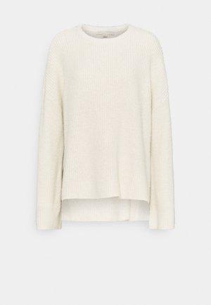 SPLIT HIGH LOW - Pullover - bone