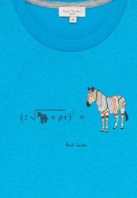 Paul Smith Junior - ABAN - Print T-shirt - blue danube - 3