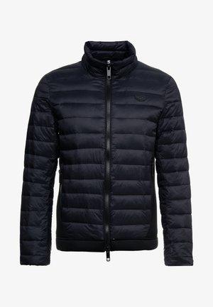 LOGO PLAQUETTE ON CHEST - Light jacket - black