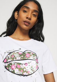 River Island - Print T-shirt - white - 3