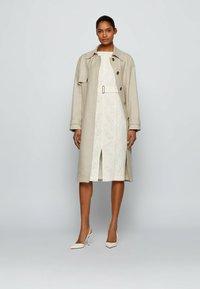 BOSS - DERGITALA - Shift dress - natural - 1