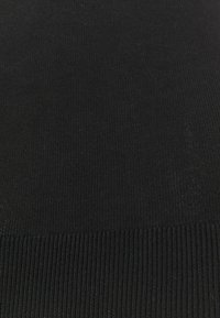 NU-IN - SLIM FIT TURTLE NECK  - Stickad tröja - black - 2