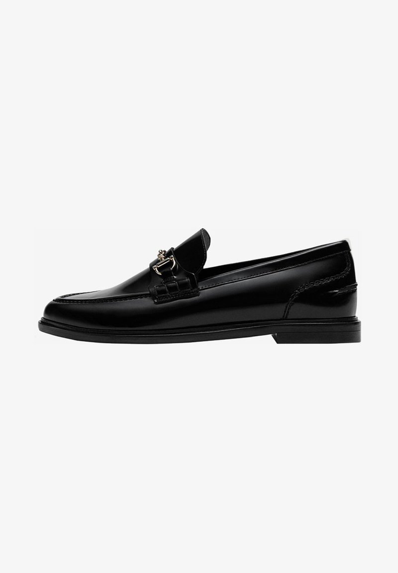 Massimo Dutti - Slip-ons - black