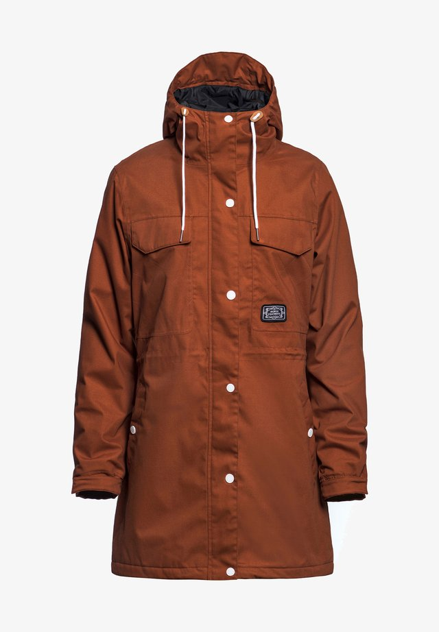 Parka - leather brown