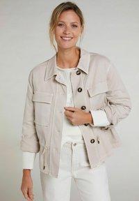 Oui - Summer jacket - light stone - 0