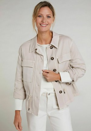 Summer jacket - light stone